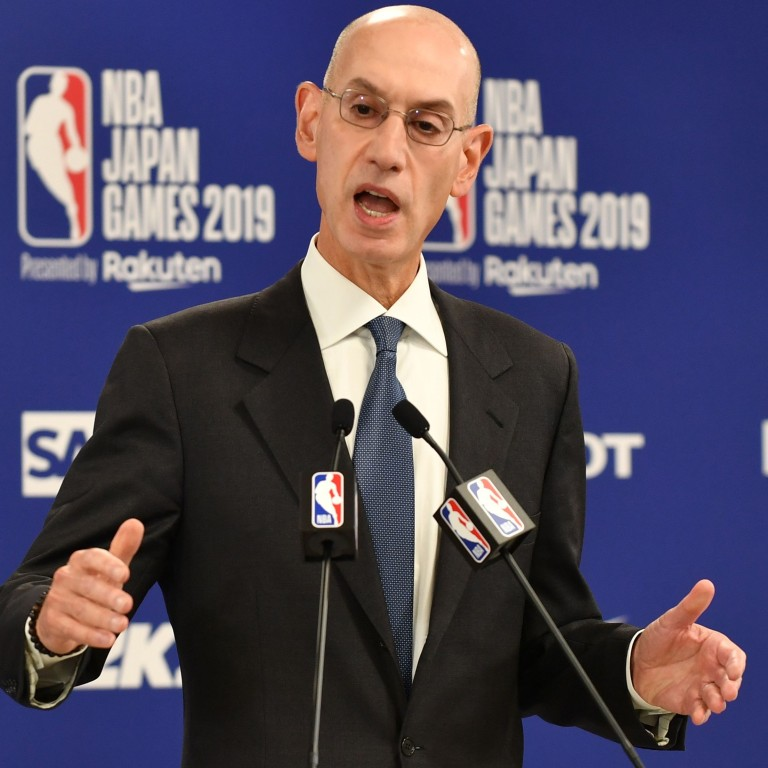 The 58-year old son of father (?) and mother(?) Adam Silver in 2021 photo. Adam Silver earned a 10 million dollar salary - leaving the net worth at  million in 2021