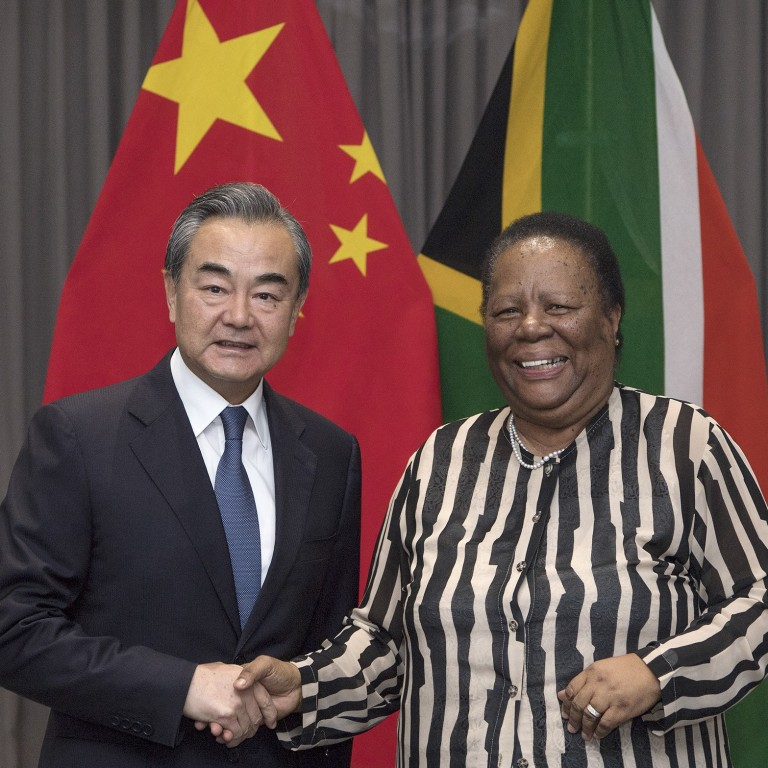 South Africa gets behind China's defence of multilateral