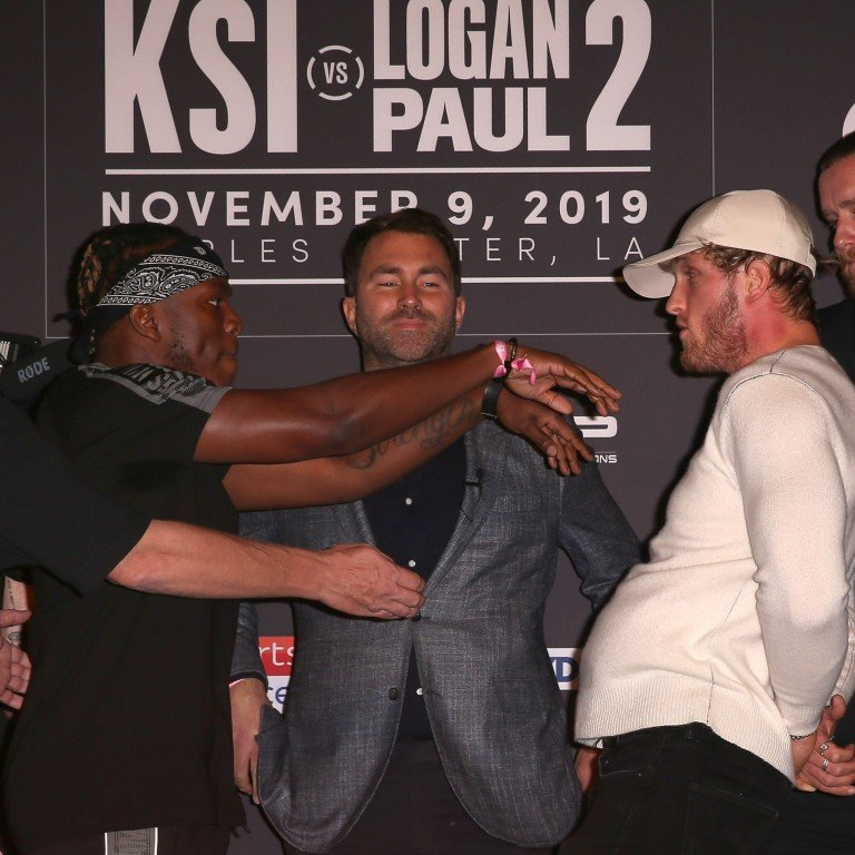Logan Paul vs KSI boxing