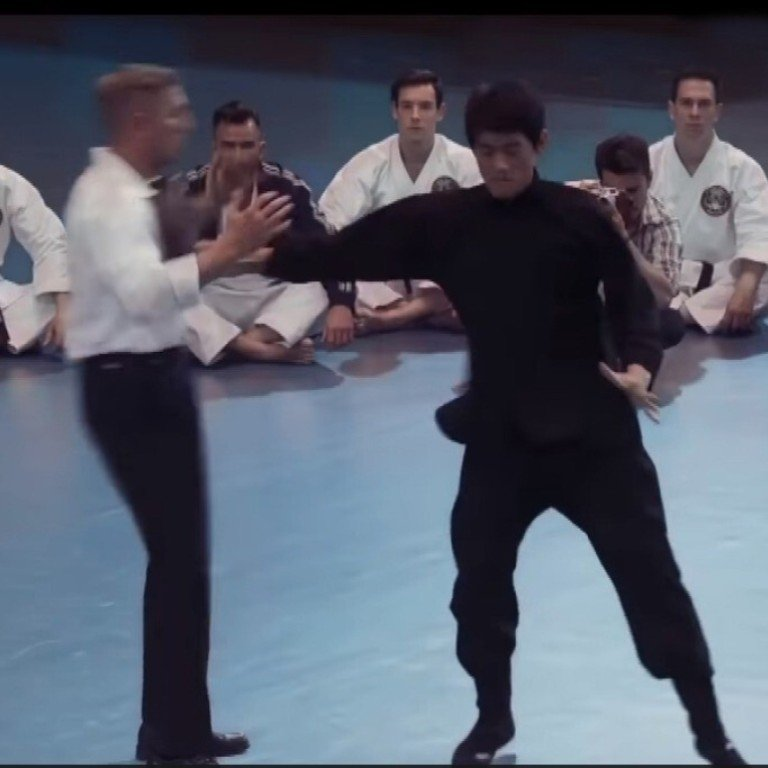 Bruce Lees One Inch Punch Kung Fu Moment Recreated In Ip