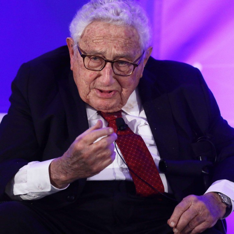 Henry Kissinger warns of 'catastrophic' conflicts unless China and US  settle their differences | South China Morning Post