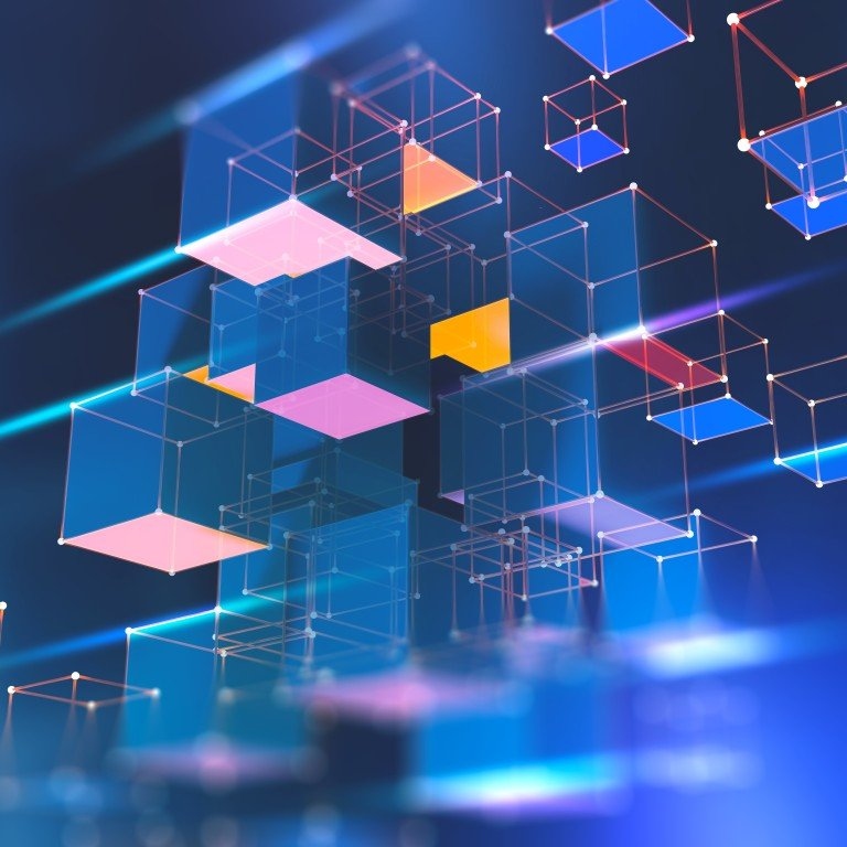 Blockchain is a distributed database where every participant shares and synchronises information. Photo: Shutterstock