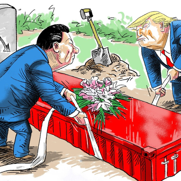 If Trump's interest in the US-China trade war is flagging and a ...