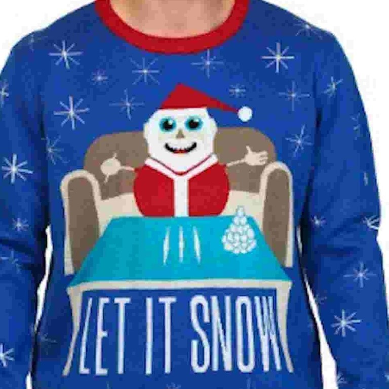 Cocaine Christmas jumper becomes a bestselling line on