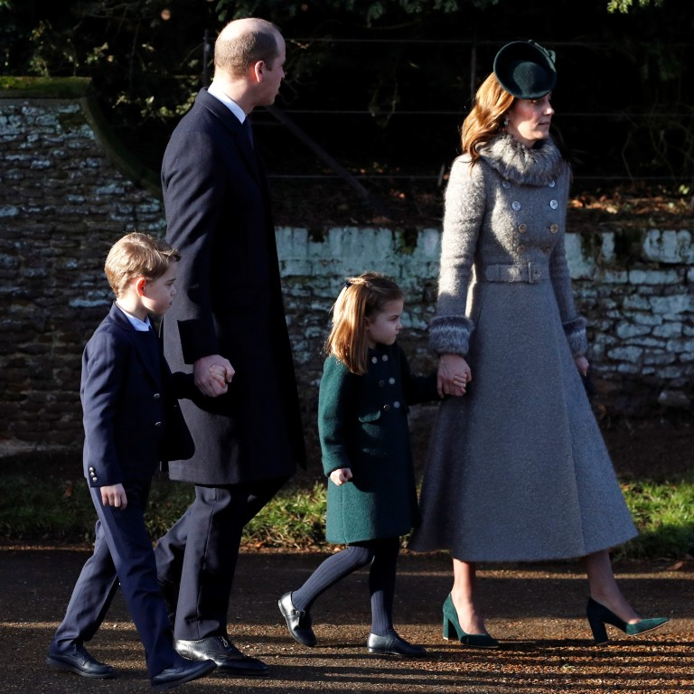 Britain S Young Royals Steal Show At Christmas Service As Prince