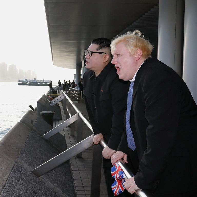 Boris Johnson Lookalike Talks Hong Kong Democracy Brexit And The