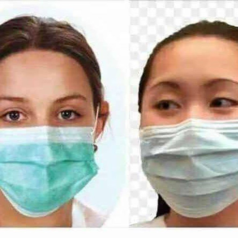 Wear China Coronavirus To Mask One Only Says Correct Way