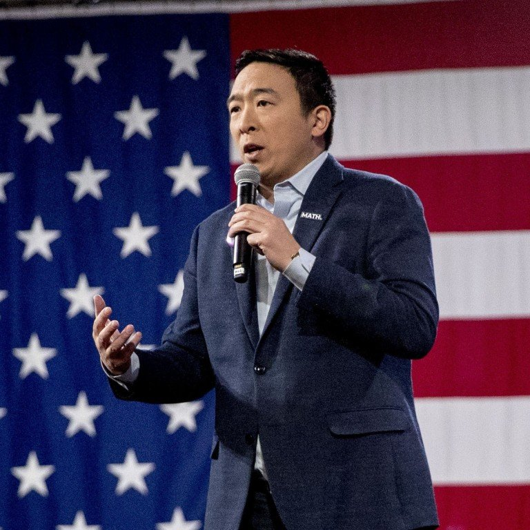 Democrat Andrew Yang does the math, drops out of 2020 US ...