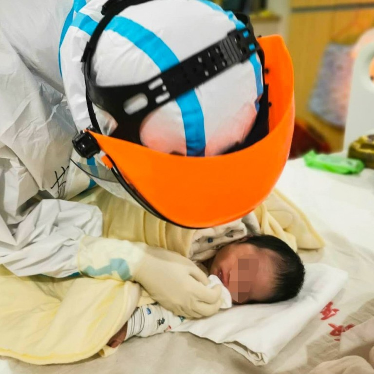 How long does coronavirus last in babies