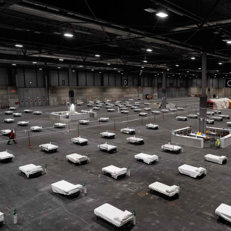 Spain's Grim Coronavirus Picture: Ice Rink Now A Morgue