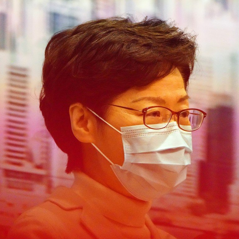 Chief Executive Carrie Lam's annual salary is set to jump to US$672,000. Photo: Robert Ng