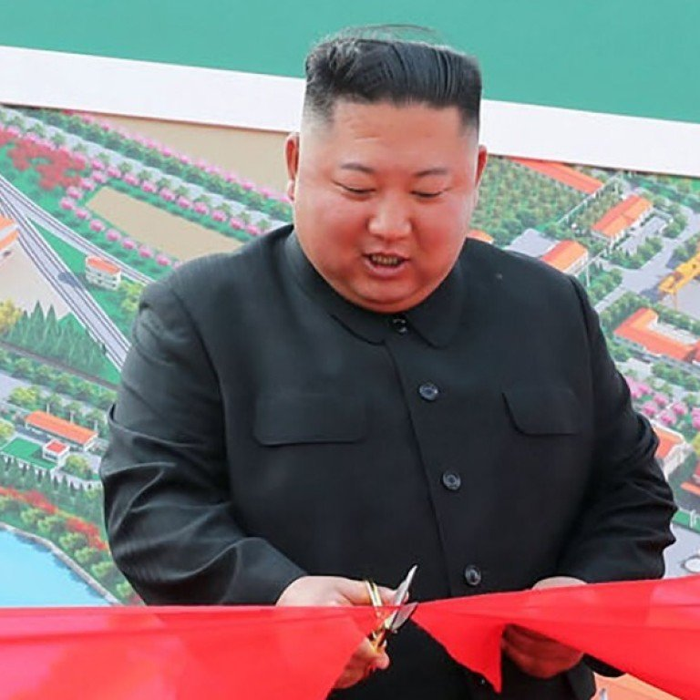 North Korea S Kim Jong Un Makes First Public Appearance In Weeks State Media Reports South China Morning Post