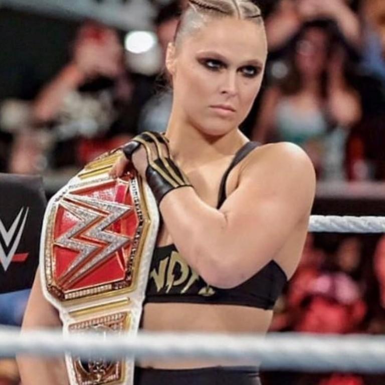 WWE Champion Ronda Rousey