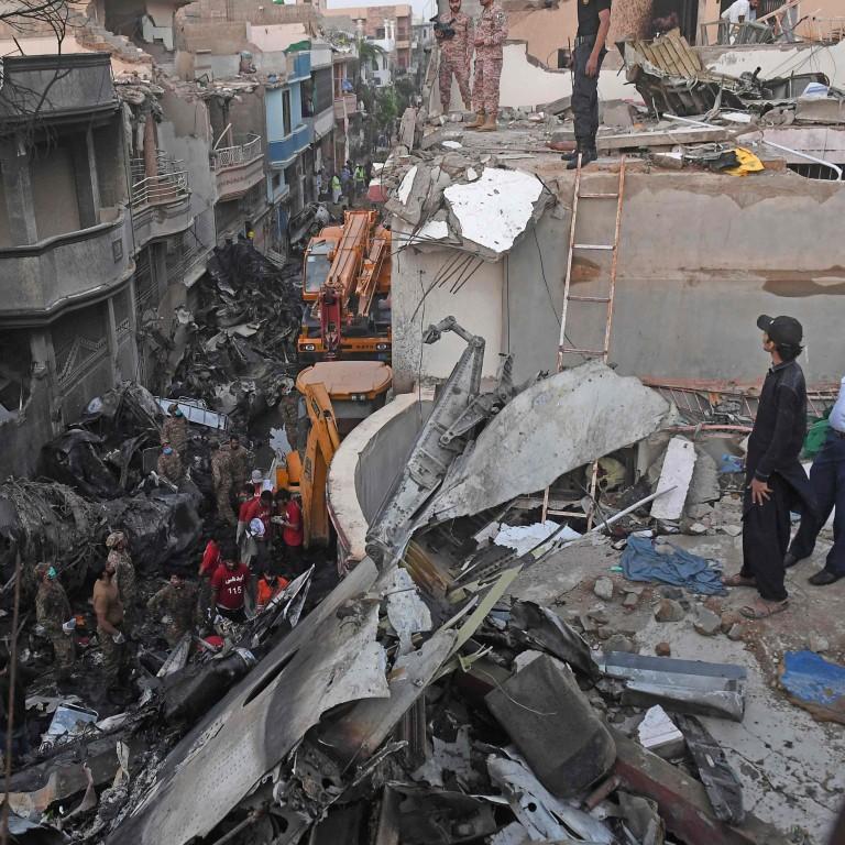 Pakistan says 97 killed and two survived Karachi plane crash ...