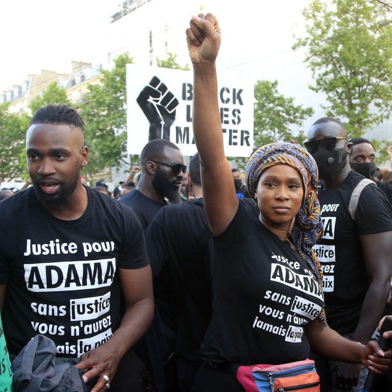 George Floyd S Death Reminds France Of Police Brutality Victim Adama Traore South China Morning Post