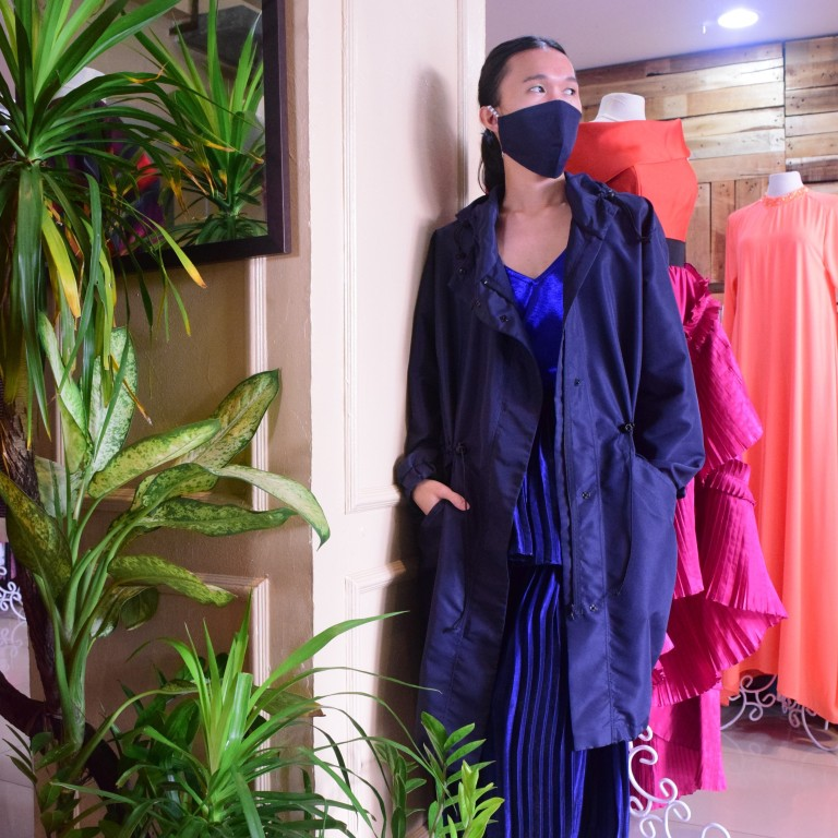 Philippines Fashion Forward Ppe For Coronavirus Wary Office Workers South China Morning Post