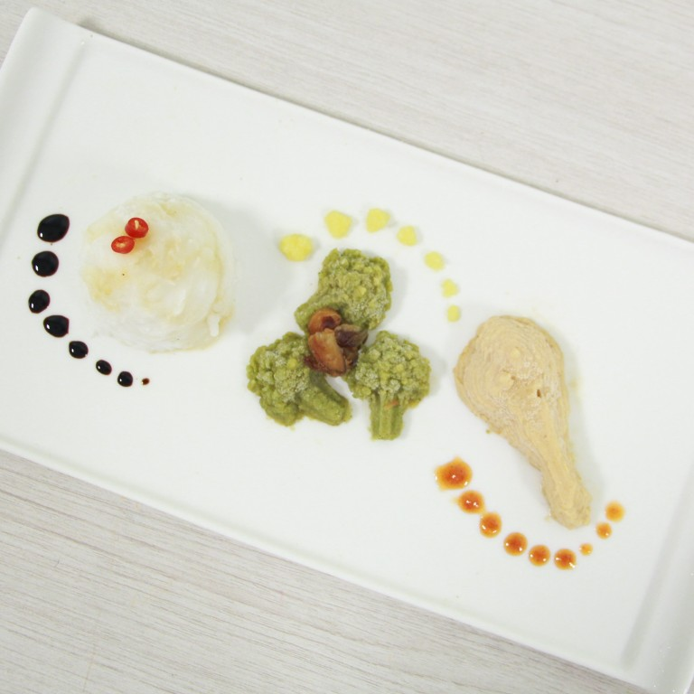 3D-printed meals that look and taste like the real thing are here, and they will help people who have difficulty chewing or swallowing solid food. Photo: SIT-Massey University