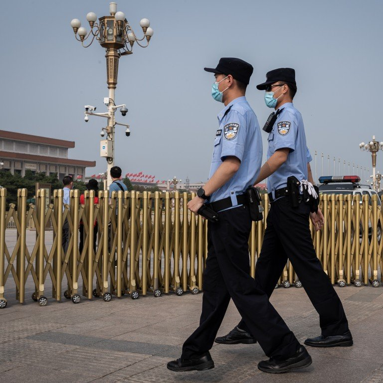 China plans hi-tech supervision of police officers and judges as party  tightens grip on domestic security | South China Morning Post