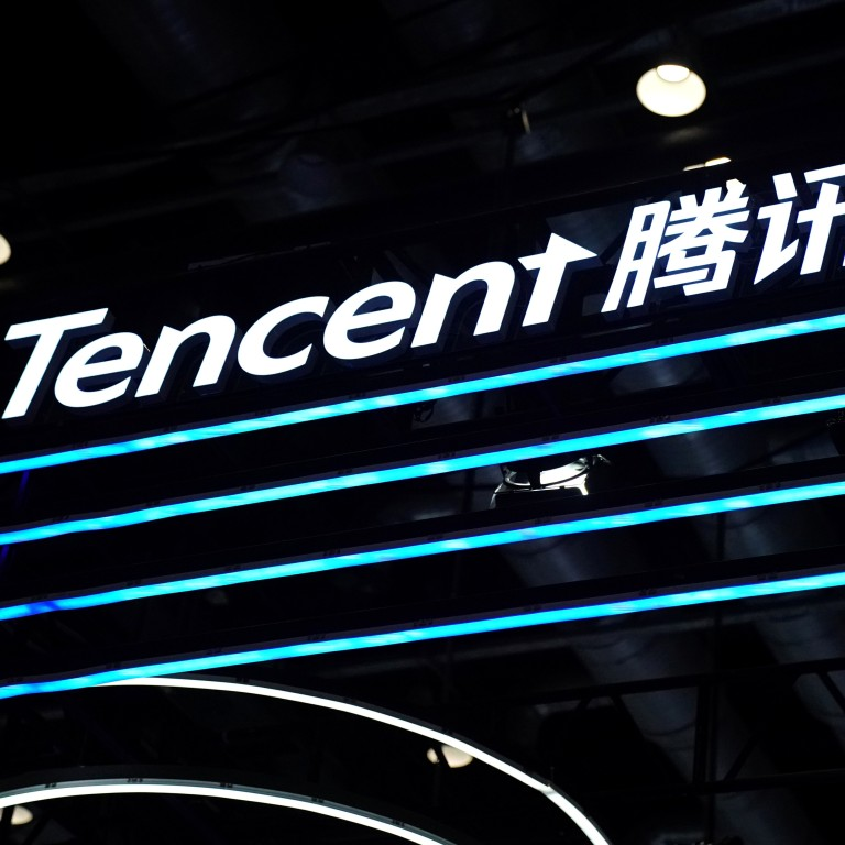 Tencent is said to have been considering the shift of some business operations out of its home country. Photo: Reuters