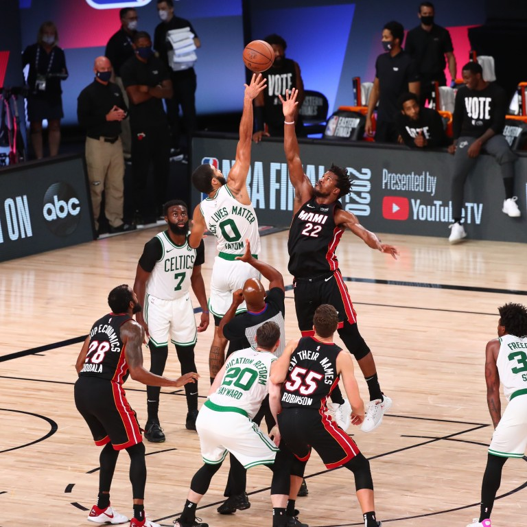 Nba Finals Miami Heat Scorch Boston Celtics To Set Up Date With La Lakers South China Morning Post