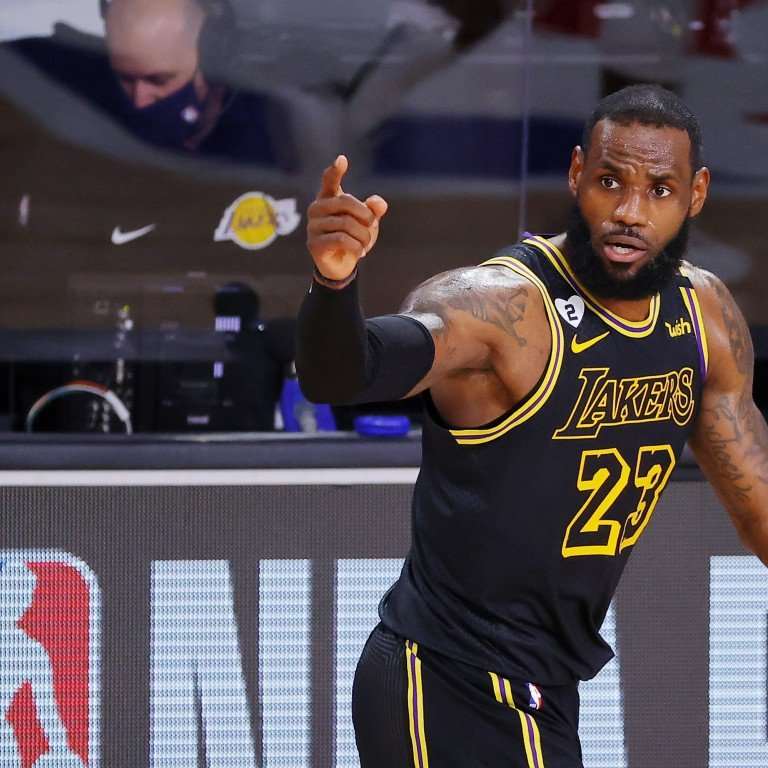 Nba Finals Lebron James And Los Angeles Lakers Thinking About Bryant Family With Black Mamba Jerseys South China Morning Post
