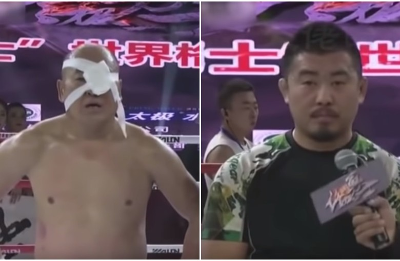 'Mad Dog' MMA fighter kicks another kung fu master's ass
