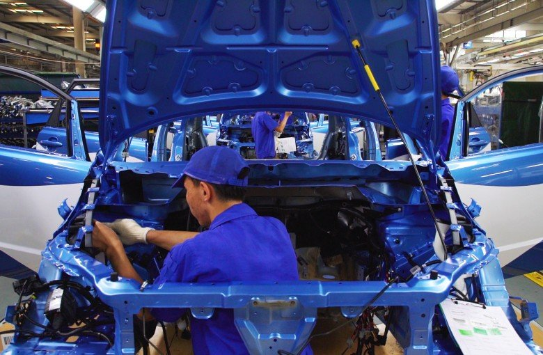The beating heart of China's electric car industry