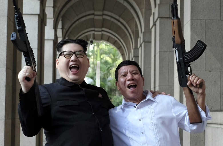 The day Kim and Duterte came to Hong Kong