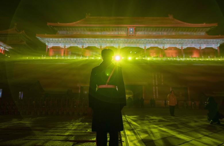 The Forbidden City gets lit