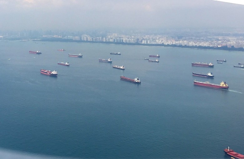 What a traffic jam in an Asian shipping lane says about the world