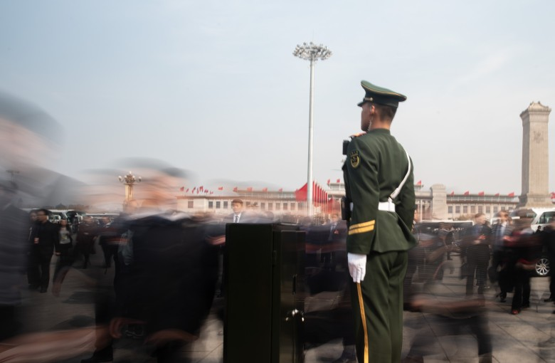 Behind the scenes in Beijing