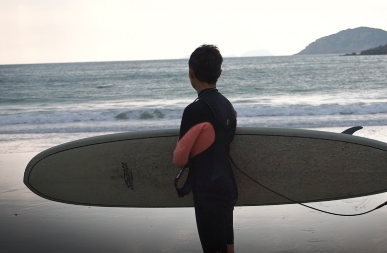 Hong Kong's surfing grandma