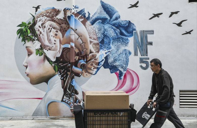 An artful new life for an old Hong Kong factory