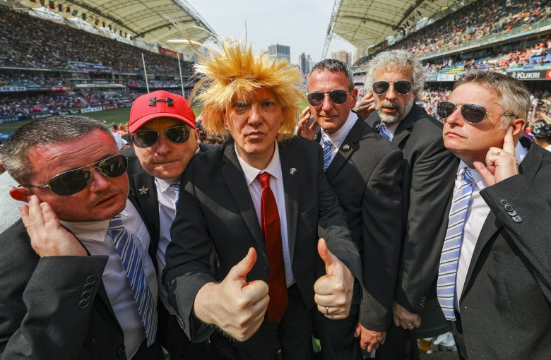 Partying with the president at the Hong Kong Sevens