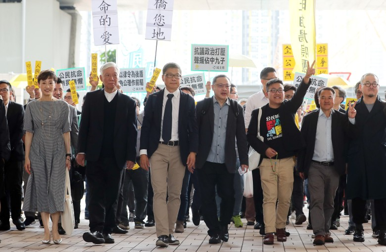 Leaders of massive Hong Kong democracy movement found guilty