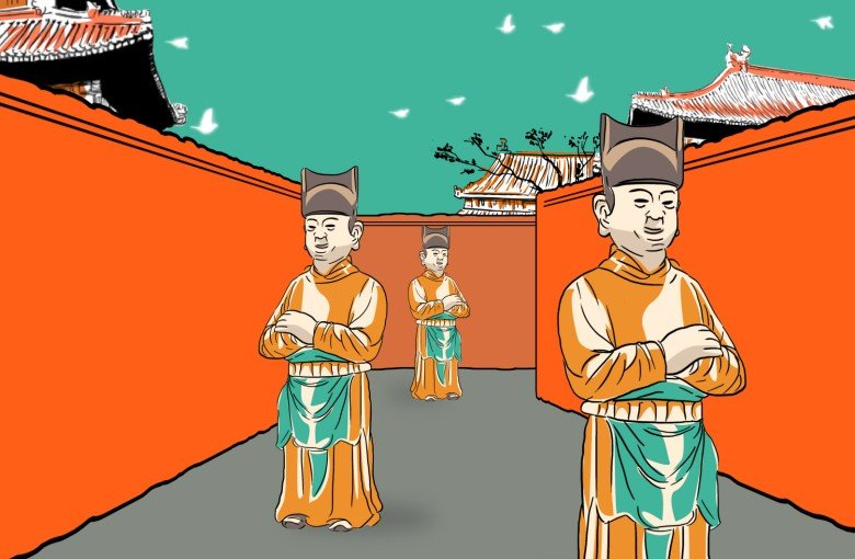 The army of eunuchs behind China's Forbidden City