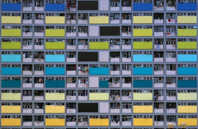 Michael Wolf's lens on Hong Kong