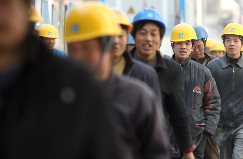 More and more of China's migrant workers are staying home