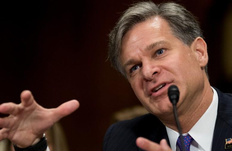 The FBI director taking aim at China