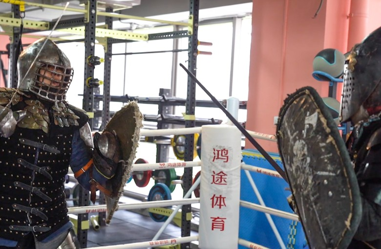 Medieval 'knights' in China are going to war