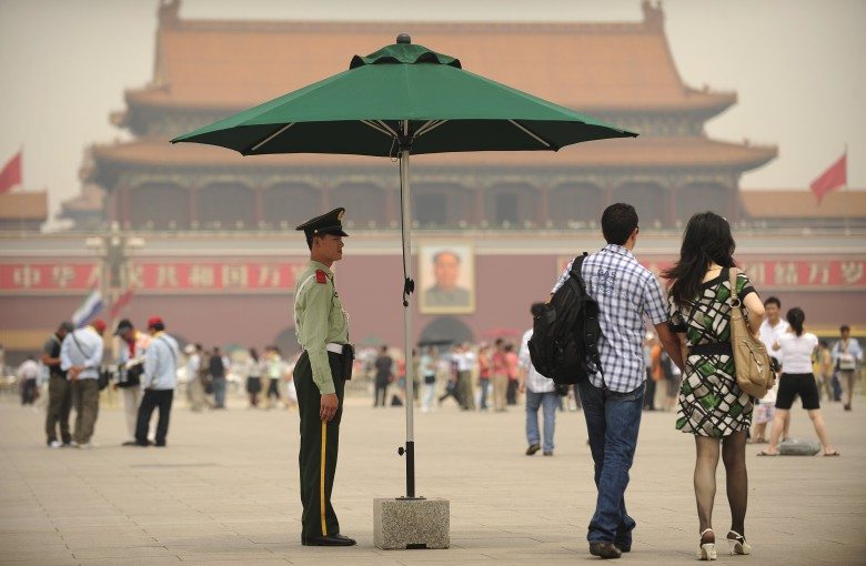 The awkwardness of bringing up Tiananmen in China