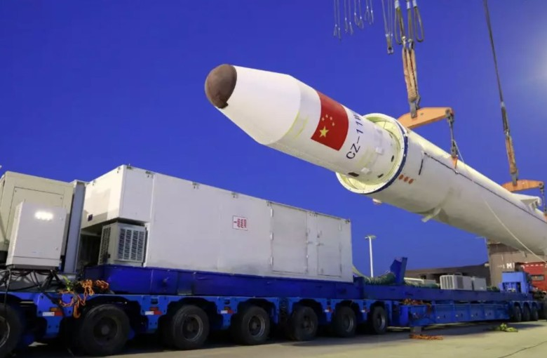 China launches rocket from ship for first time