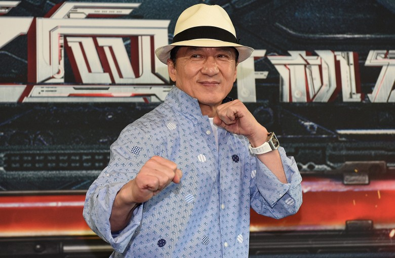 Jackie Chan dined with two stars. Hong Kong is not amused