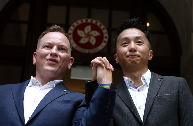 A gay couple's fight for equal rights in Hong Kong