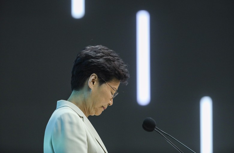 Will another 'sorry' calm Hong Kong?