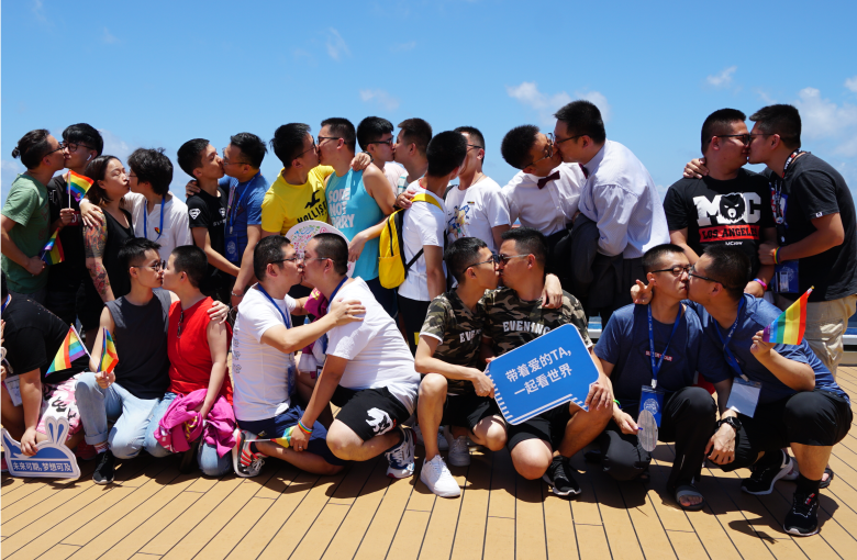 Diary of a Chinese lesbian on an LGBTQ cruise