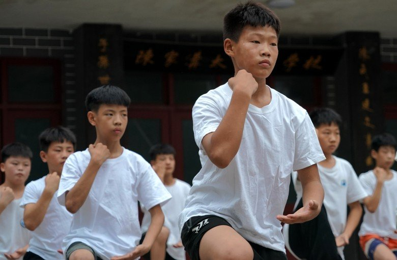 Training in China's 'birthplace of tai chi'