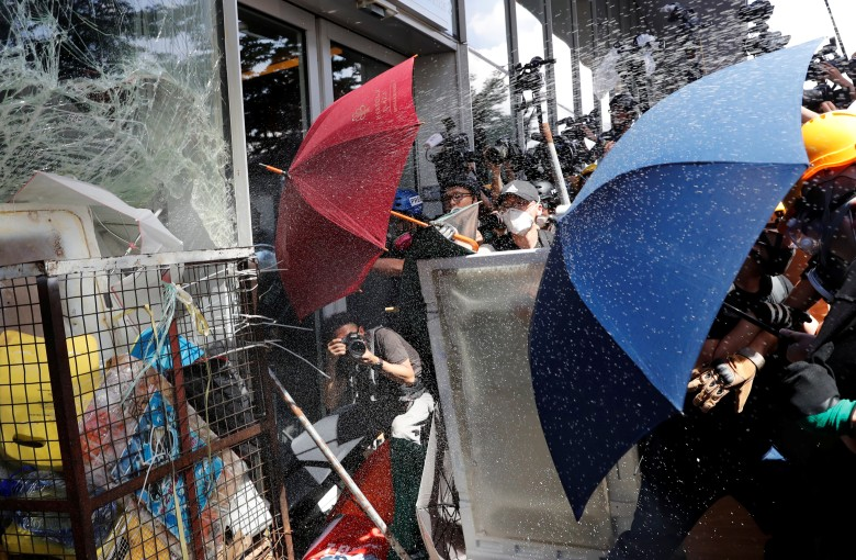 A tale of two Hong Kong protests