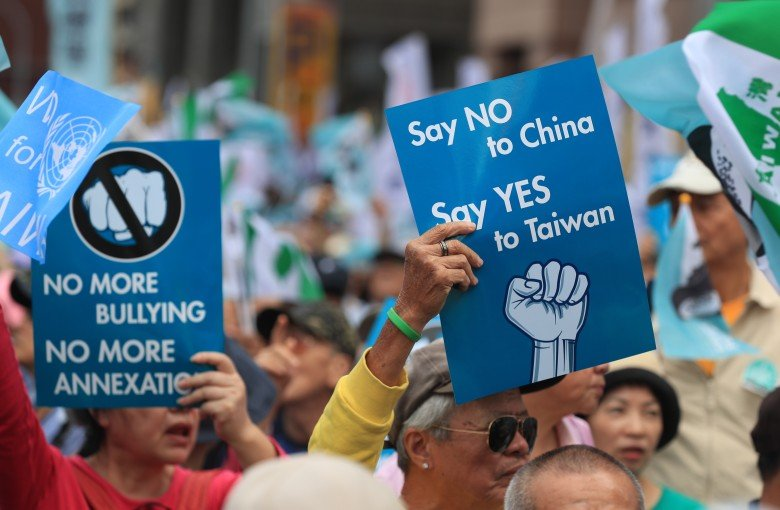 A new political party vows to turn Taiwan into a 'normal country'