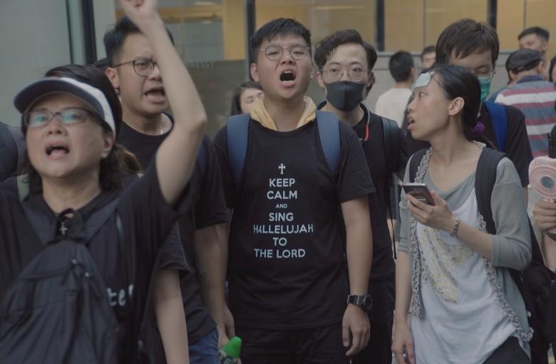 Hong Kong's Christian protesters